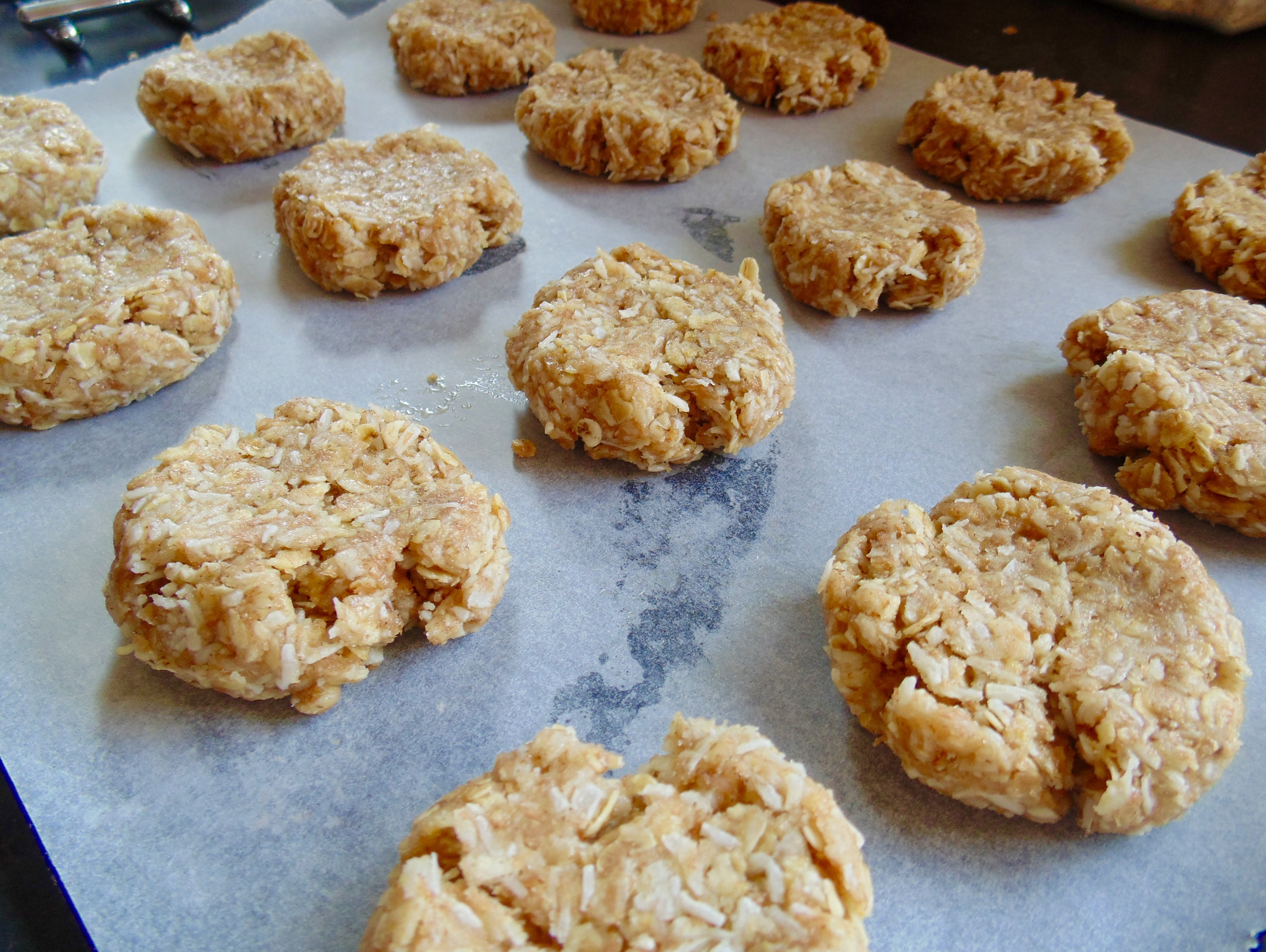 easy anzac biscuits