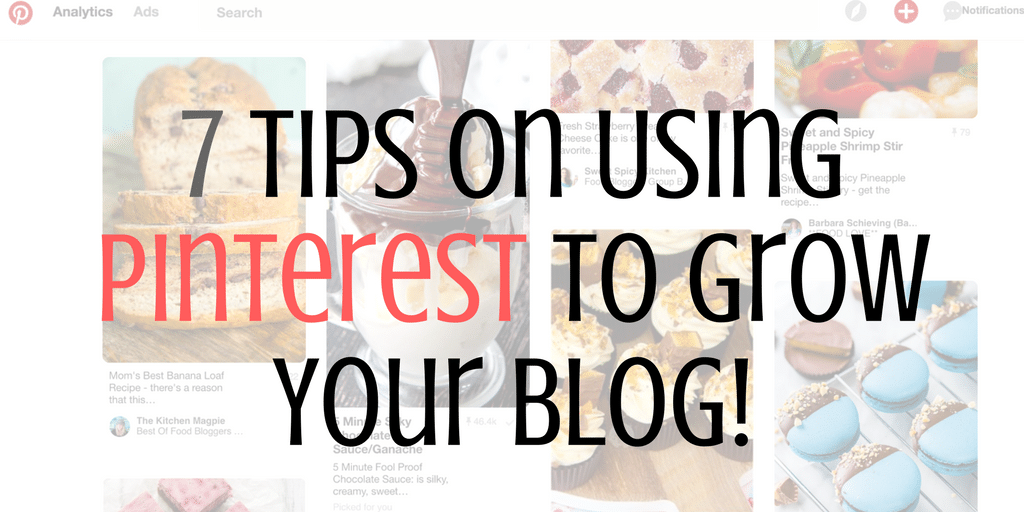 using Pinterest to grow your blog