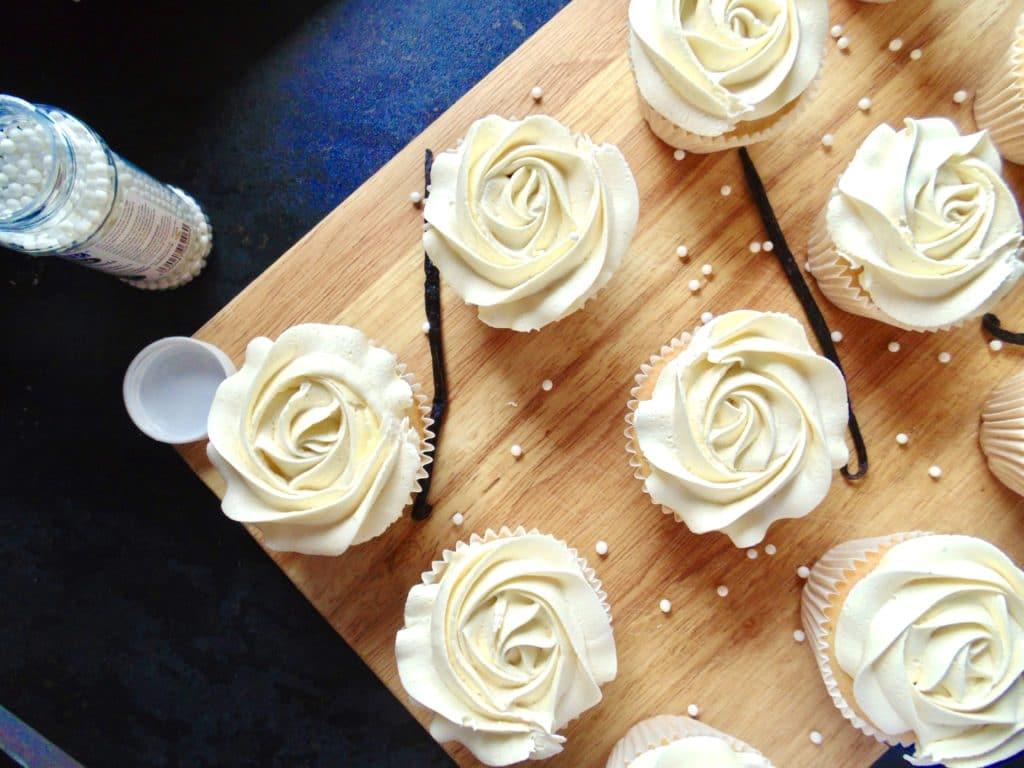 virgin vanilla cupcakes
