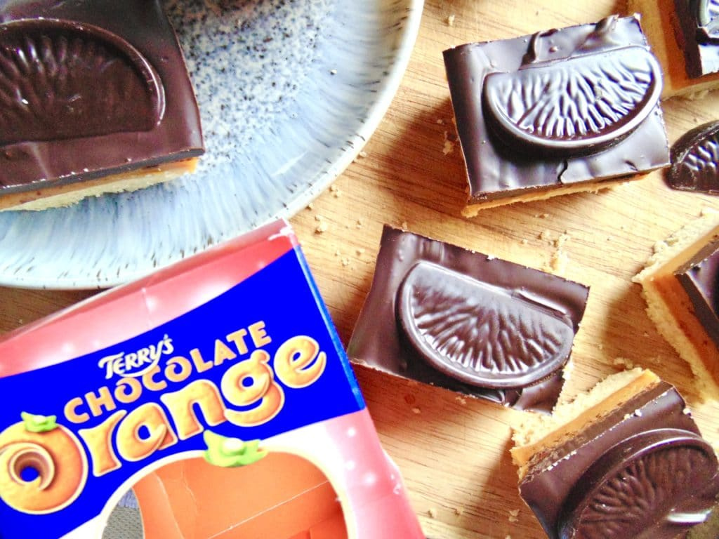 Chocolate Orange Millionaire's Shortbread