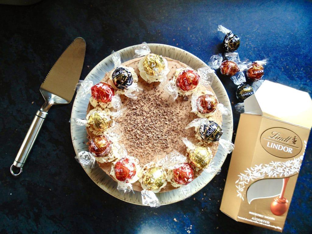 lindt lindor cheesecake