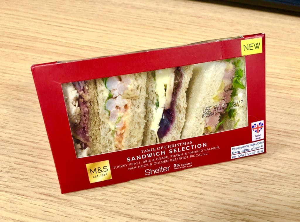 ultimate Christmas sandwich review