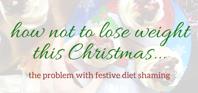 festive diet shaming