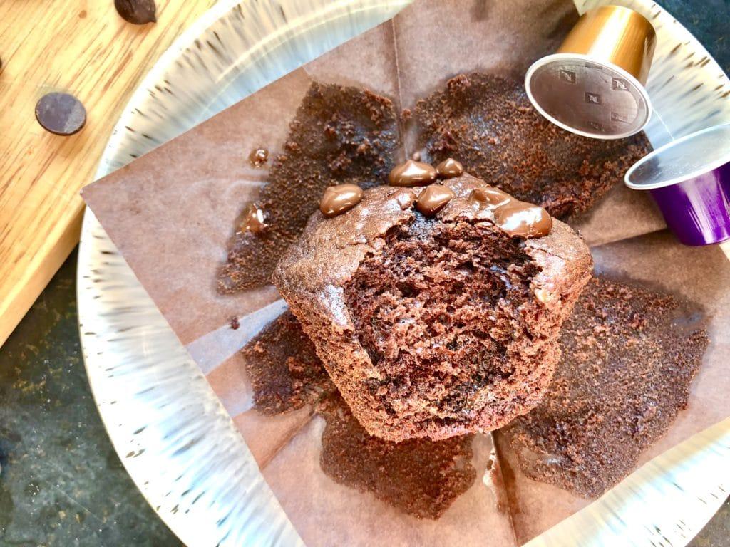chocolate chip mocha muffins