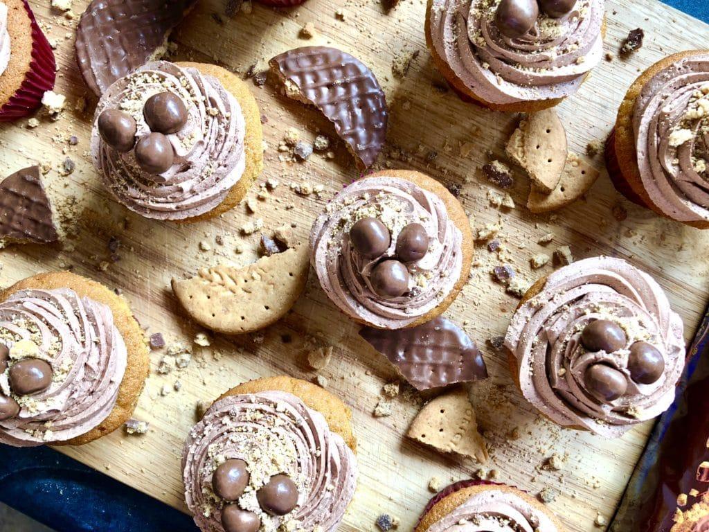 mcvitie's chocolate digestive cupcakes