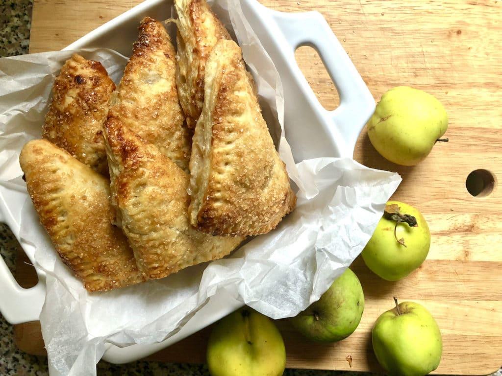 toffee apple turnovers
